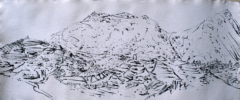 christian peltenburg brechneff the sifnos drawings ink drawings